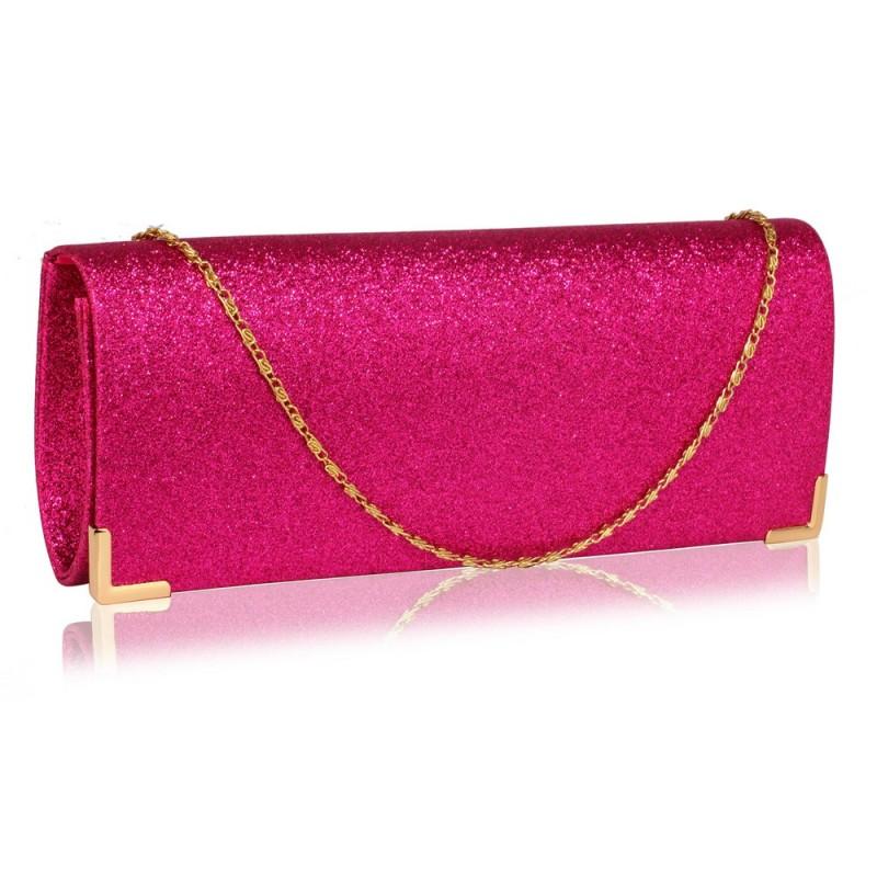 Dámské psaníčko LS Fashion Mollie - růžová