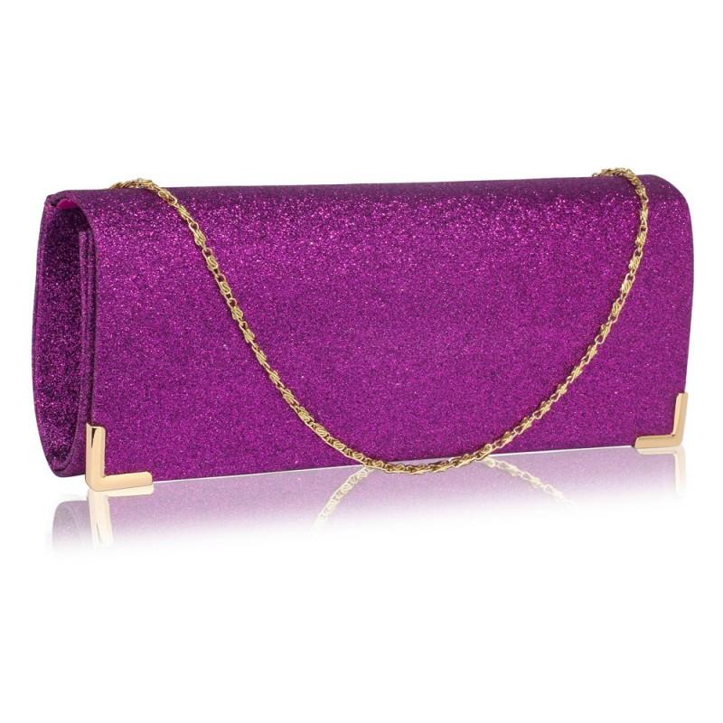 Dámské psaníčko LS Fashion Mollie - fialová