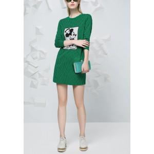 Dámské psaníčko LS Fashion Charlotte - zelená