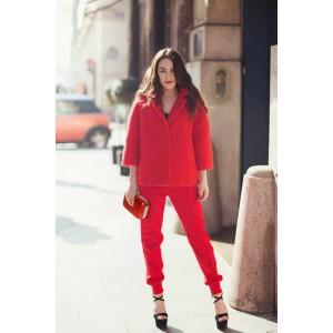 Dámské psaníčko LS Fashion Gloss - červená