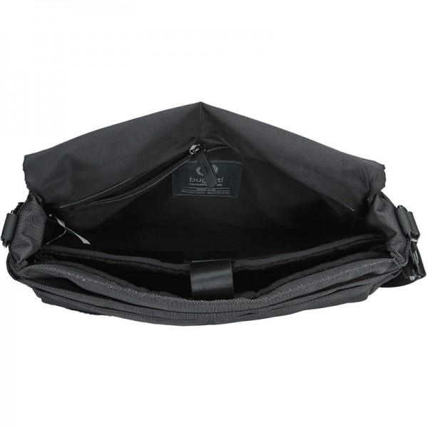 Pánská taška přes rameno Bugatti Domani - šedá