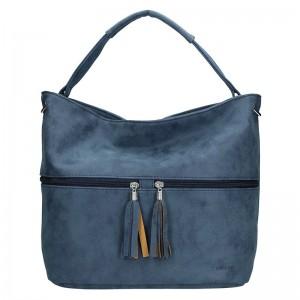 Dámská kabelka Double D - modrá