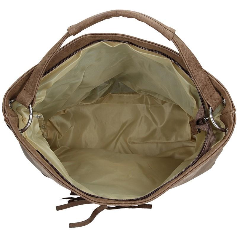 Dámská kabelka Double D - hnědá