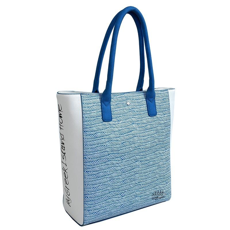 Dámská kabelka Doca 12421 - modrá
