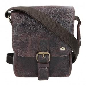 Pánská taška Daag JAZZY WANTED 11 - tmavě hnědá
