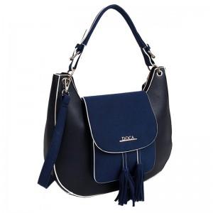 Dámská kabelka Doca 13540 - modrá