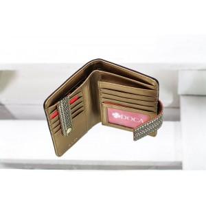 Dámská peněženka Doca 65002 - hnědá