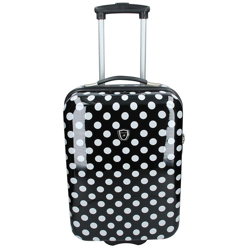 Palubní cestovní kufr Madisson Amanda - černá