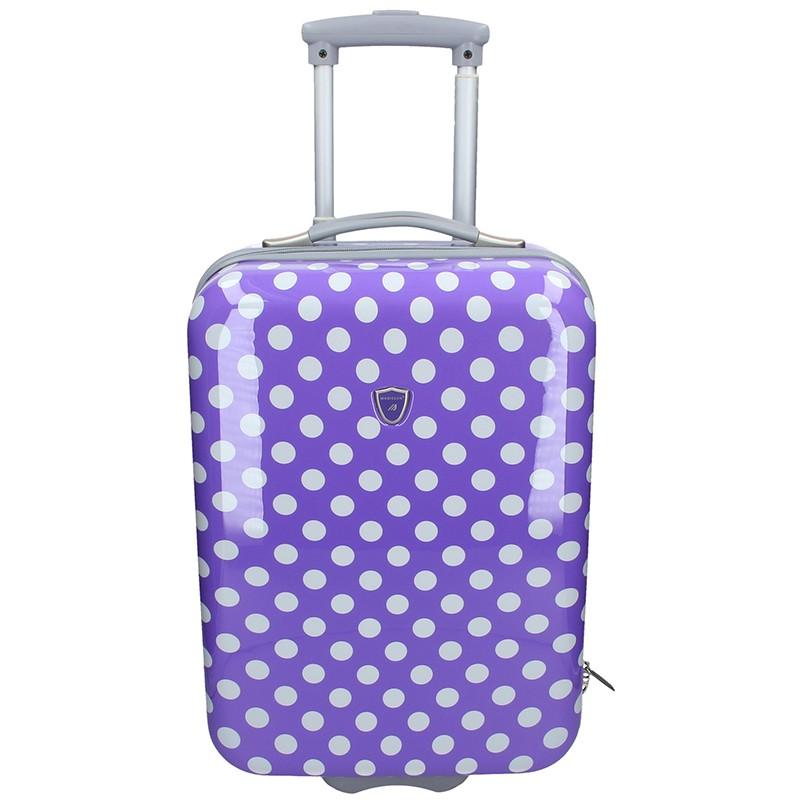 Palubní cestovní kufr Madisson Amanda - fialová