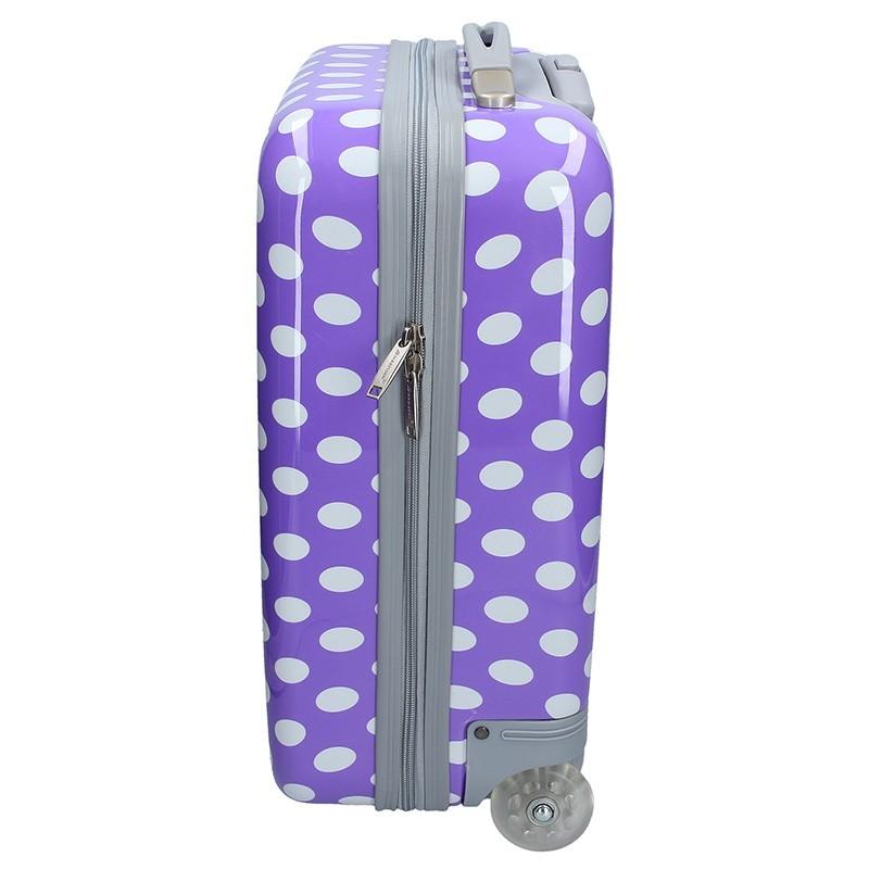 Palubní cestovní kufr Medisson Amanda - fialová