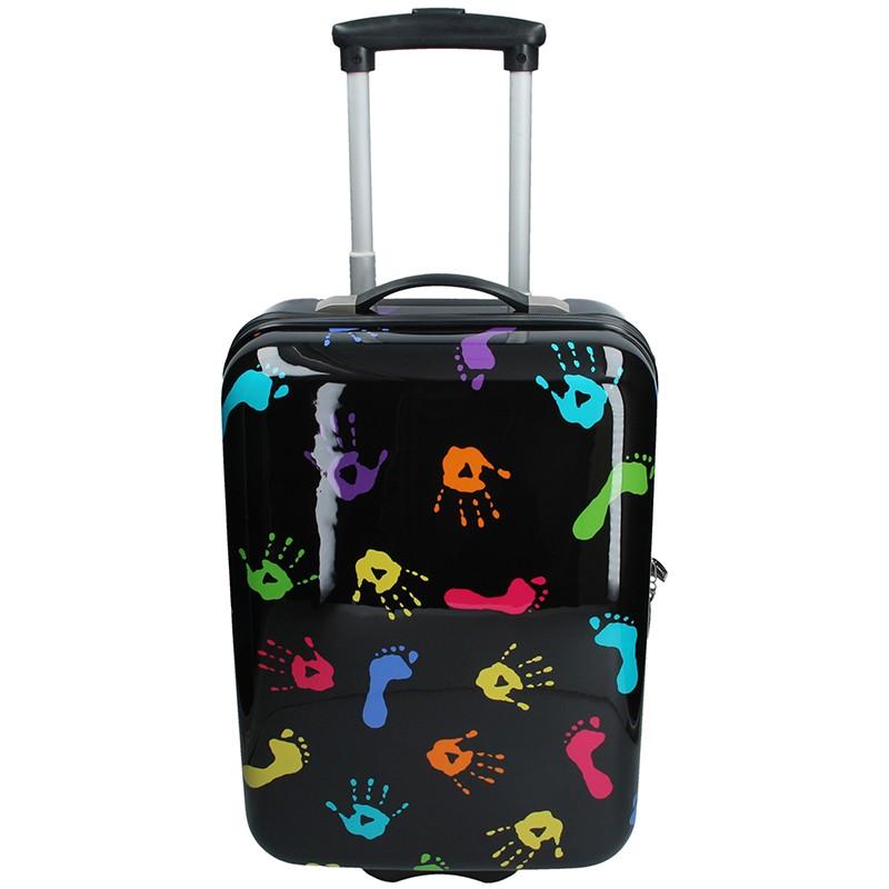 Palubní cestovní kufr Snowball Ula - černá