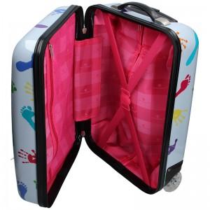 Palubní cestovní kufr Snowball Ula - světle šedá