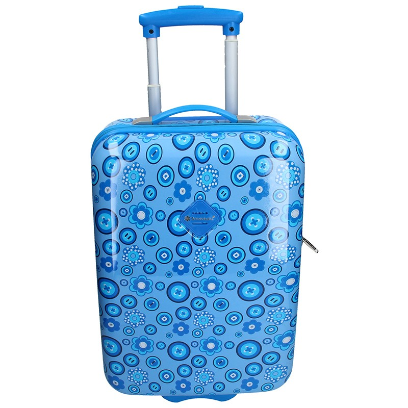 Palubní cestovní kufr Snowball Silva - modrá