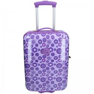 Palubní cestovní kufr Snowball Silva - fialová