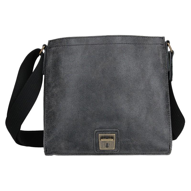 Pánská kožená taška 2JUS Land 3 - hnědá