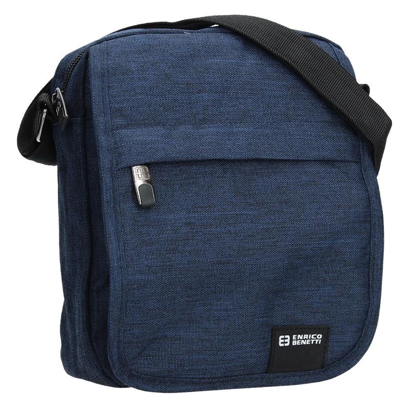 Pánská taška na doklady Enrico Benetti Mojmír - modrá