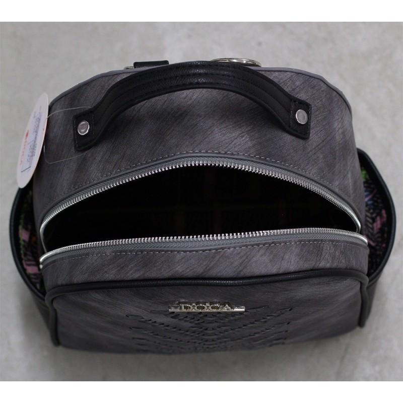 Dámský batůžek Doca 12128 - černá