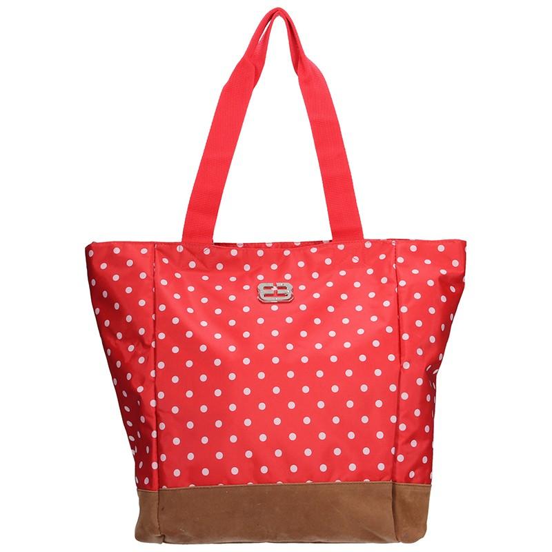 Letní taška Enrico Benetti 47074 - červená 3c026b09d8e
