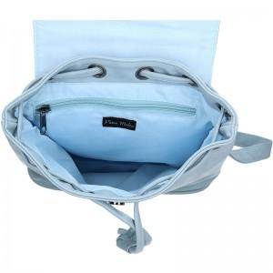 Moderní dámský batoh Piace Molto Adriana - modrá