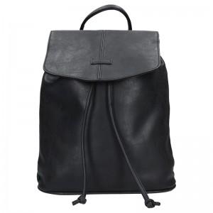 Moderní dámský batoh Piace Molto Adriana - černá