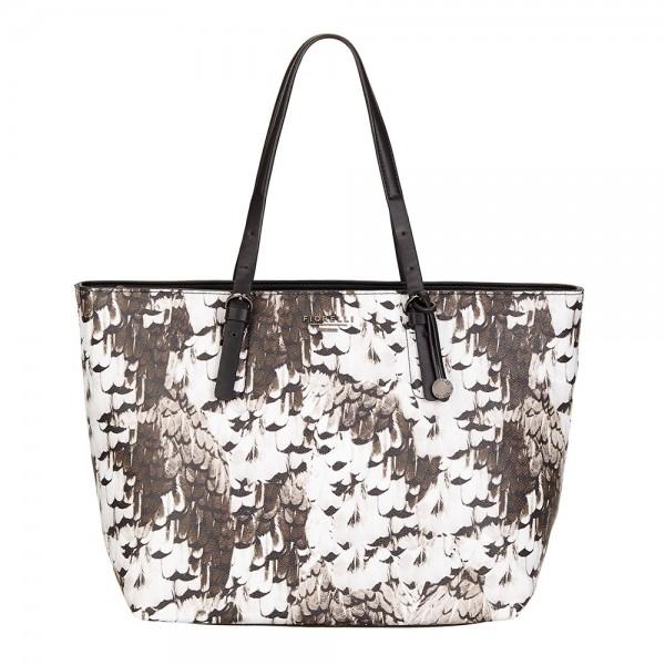 Elegantní dámská kabelka Fiorelli LAURENT - béžovo-hnědá