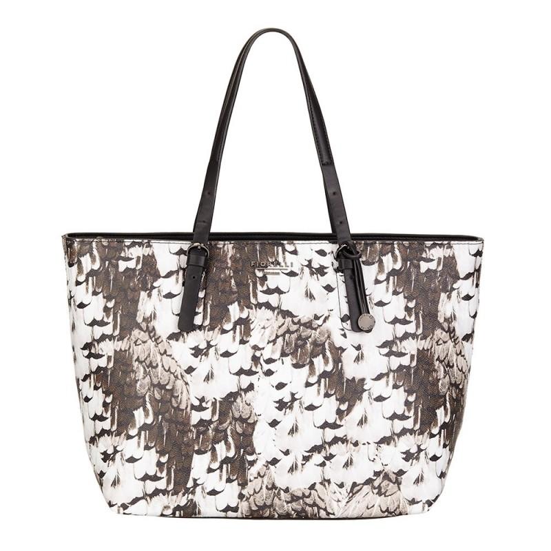 Elegantní dámská kabelka Fiorelli LAURENT - béžovo-hnědá 295ab10a34e