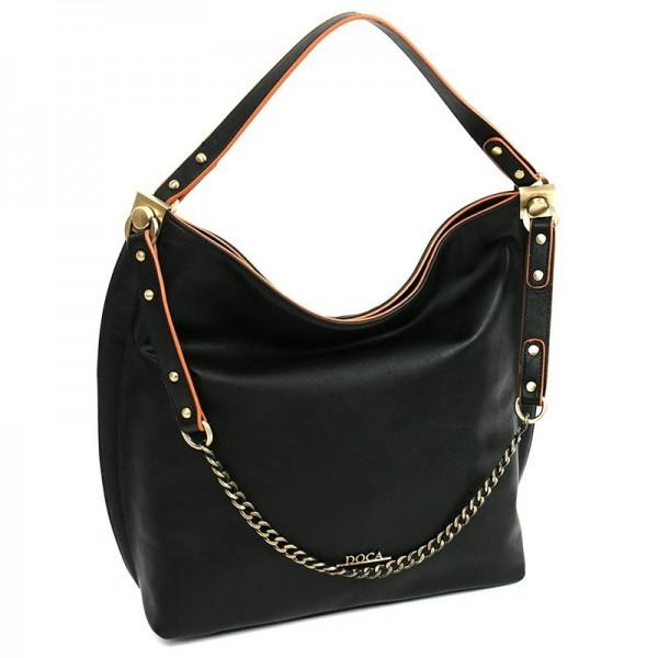 Dámská kabelka Doca 12381 - černá