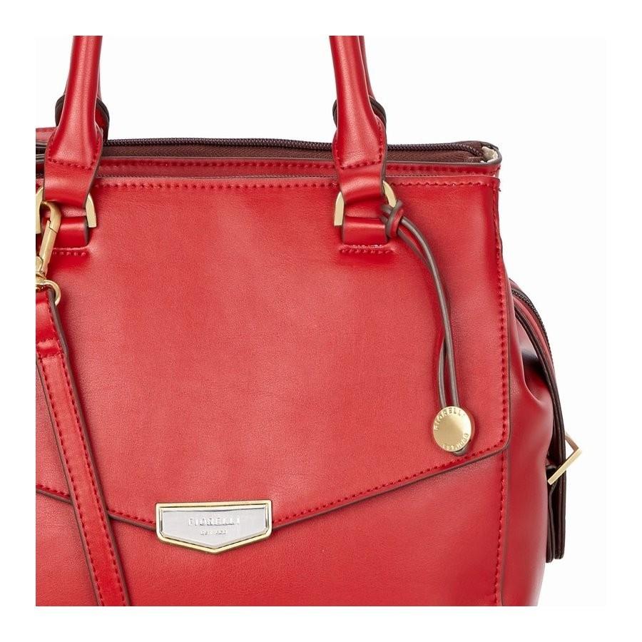 604a73d8f8 Elegantní dámská kabelka Fiorelli MIA - červená