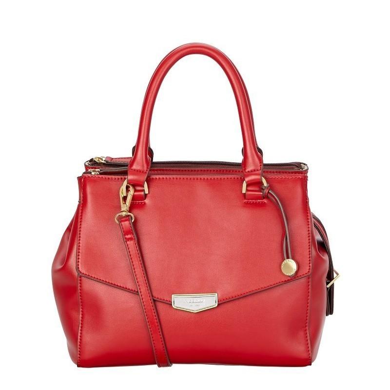 6eb7d41609 Elegantní dámská kabelka Fiorelli MIA - červená