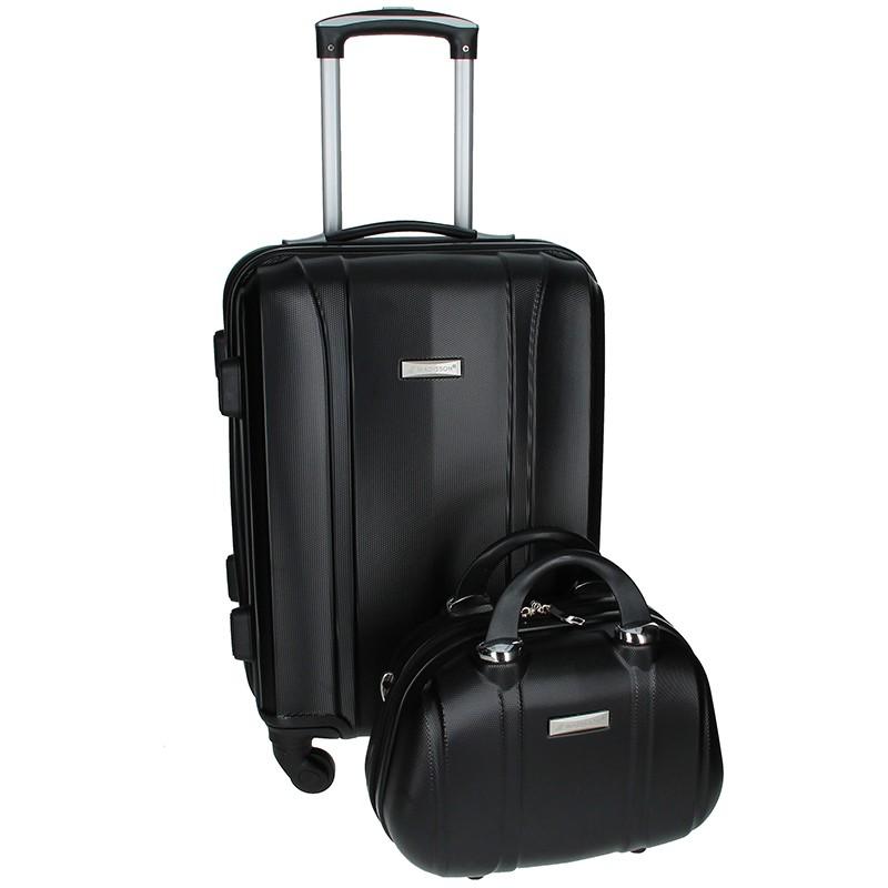 Sada dvou cestovních kufrů Madisson Spice - černá 39l