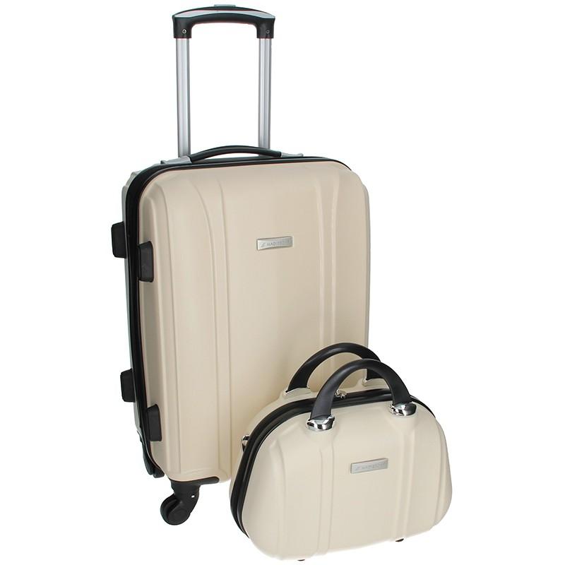 Sada dvou cestovních kufrů Madisson Spice - milky 39l