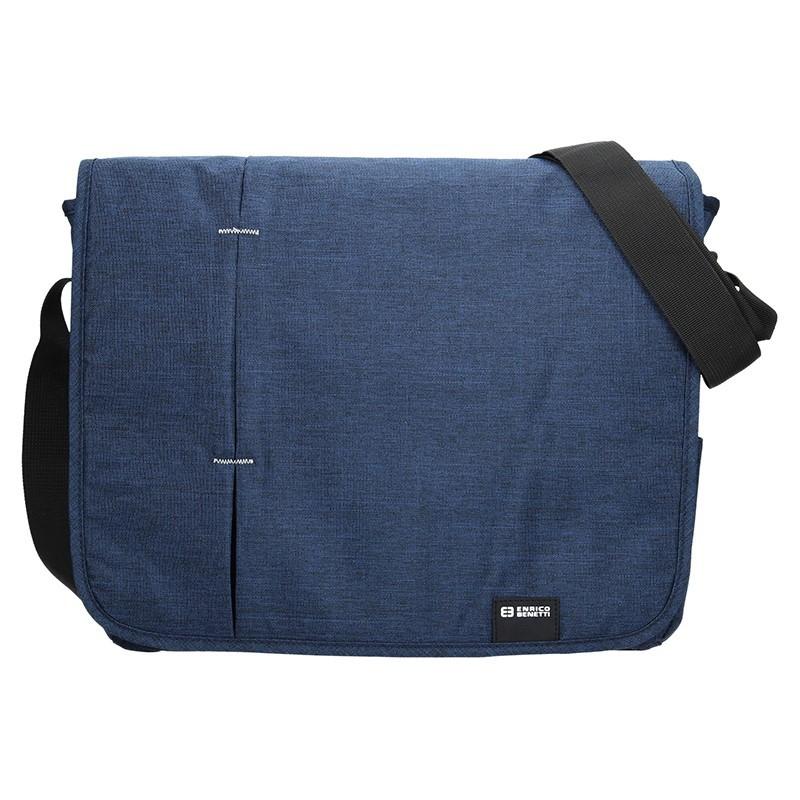 Pánská taška přes rameno Enrico Benetti Monter - modrá