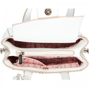 Dámská kabelka Doca 11282 - bílá