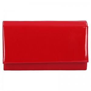 Elegantní dámské psaníčko Ema - červená