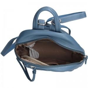 Módní dámský batůžek David Jones Olpa - modrá