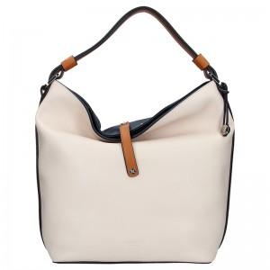 Elegantní dámská kabelka Fiorelli NINA - béžovo-modrá