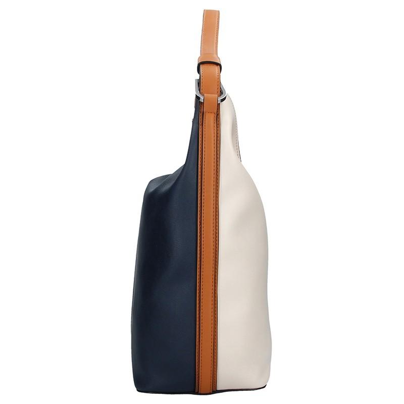 Elegantní dámská kabelka Fiorelli NINA - béžovo-modrá b7174507488