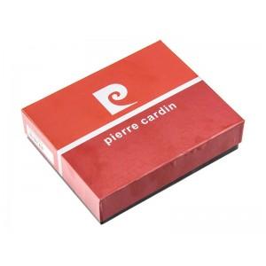 Pánská kožená peněženka Pierre Cardin Olek - černo-červená