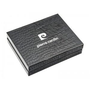Pánská kožená peněženka Pierre Cardin Luka - černo-hnědá