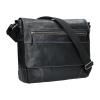 Pánská kožená taška přes rameno Lagen Marvel - černá