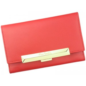 Dámská kožená peněženka Pierre Cardin Hanna - červená