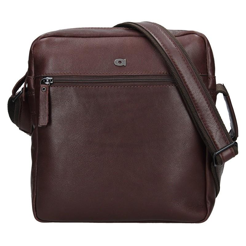 Pánská kožená taška Daag Paul - koňak