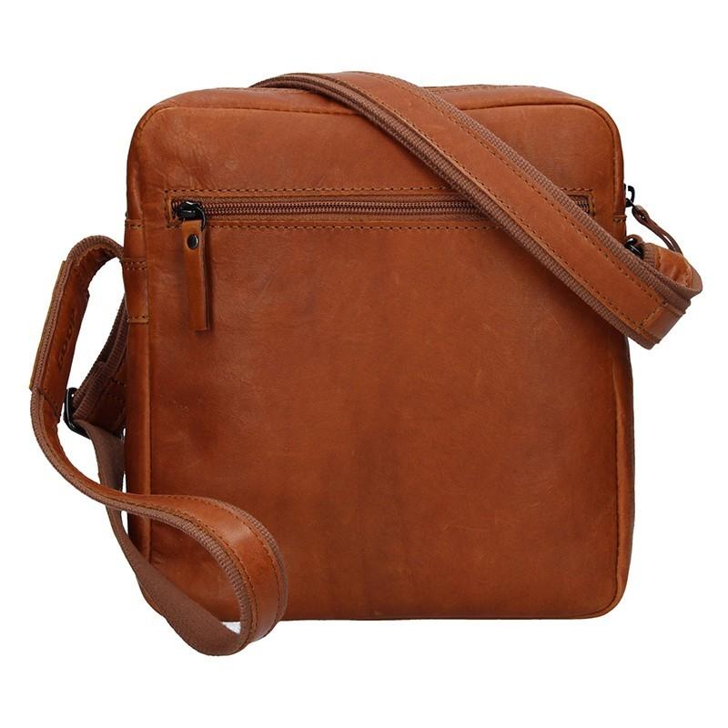 Pánská kožená taška Daag Peter - koňak