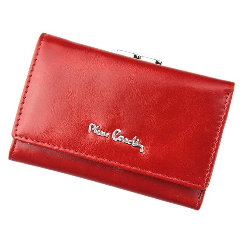 Dámská kožená peněženka Pierre Cardin Linda - červená 13bfcbd5ba