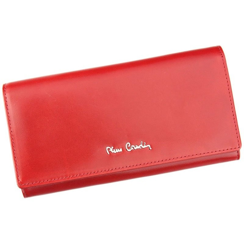 Dámská kožená peněženka Pierre Cardin Marie - červená