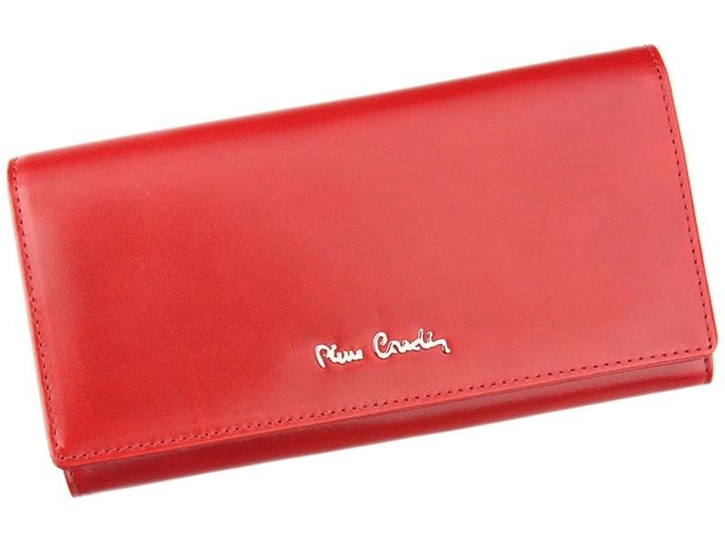 Dámská kožená peněženka Pierre Cardin Brenda - červená