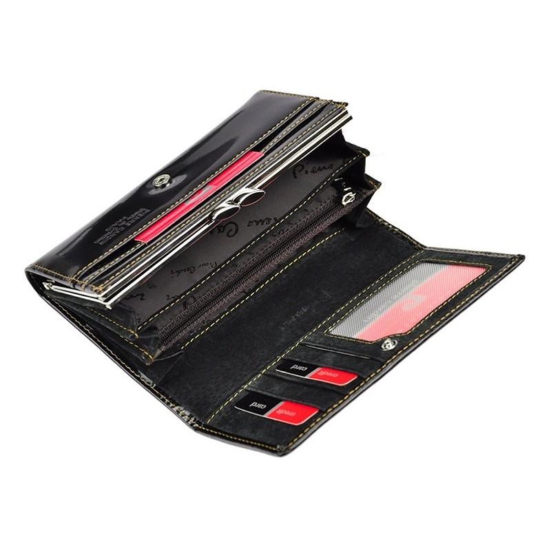 Dámská kožená peněženka Pierre Cardin Lorela - černá