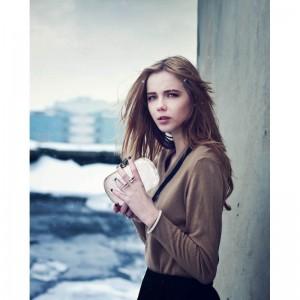 Dámské krajkové psaníčko LS Fashion Emily - ivory