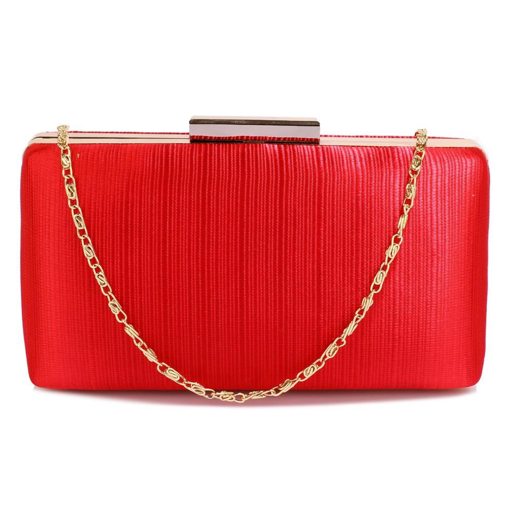 Dámské psaníčko LS Fashion Holly - červená