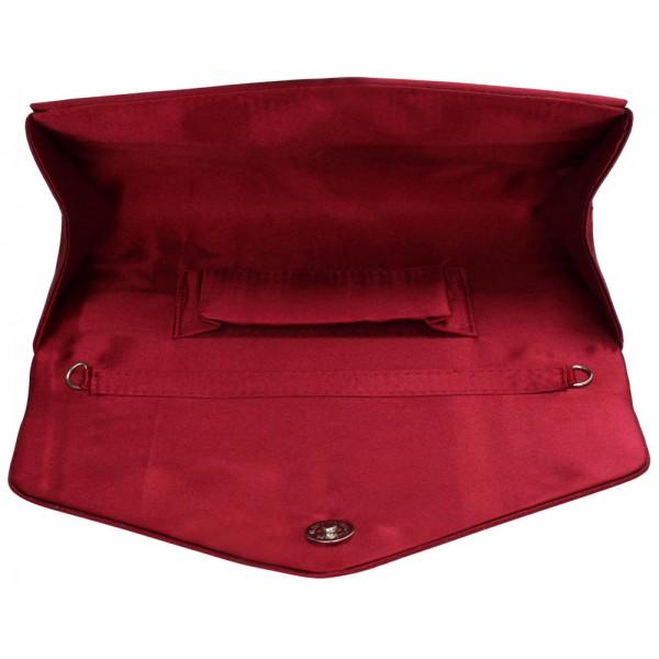 Dámské psaníčko LS Fashion Anet - červená